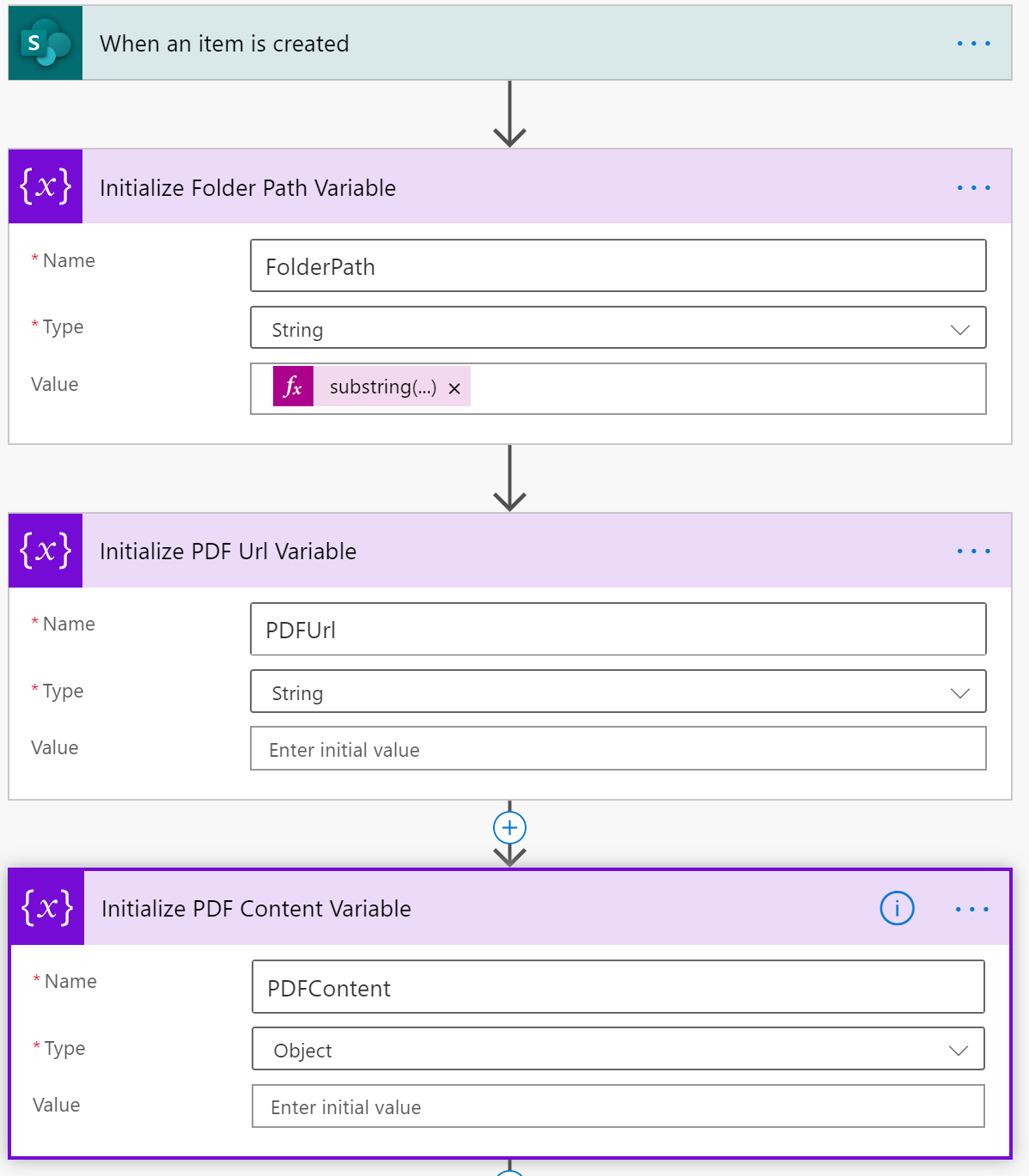 Power Automate - Flow View