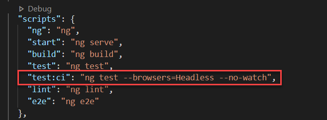 Adding a new script to run tests using headless browser
